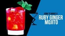 RUBY GINGER MOJITO