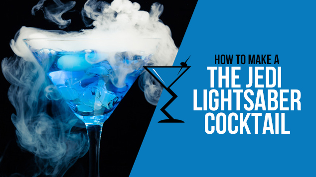 The Jedi Lightsaber Cocktail