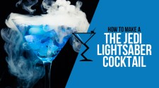 The Jedi Lightsaber Cocktail