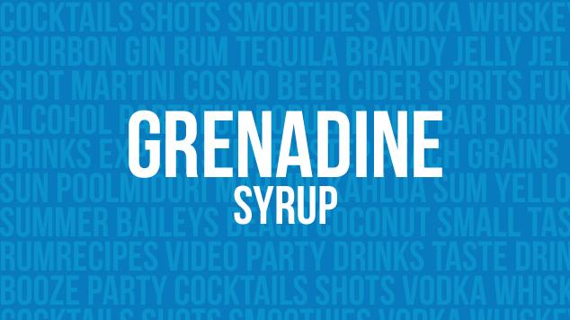 Grenadine Syrup