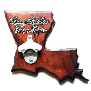 Louisiana Bottle Opener