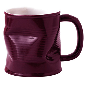 Squashed Tin Can Mug Purple 7.8oz / 220ml