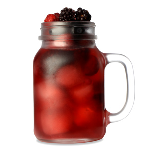 Frosted Mason Drinking Jar Glasses 20oz / 568ml