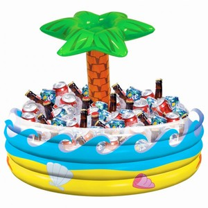 Tropical Palm Tree Inflatable Cooler