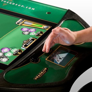 Heads-Up Poker Challenge Machine