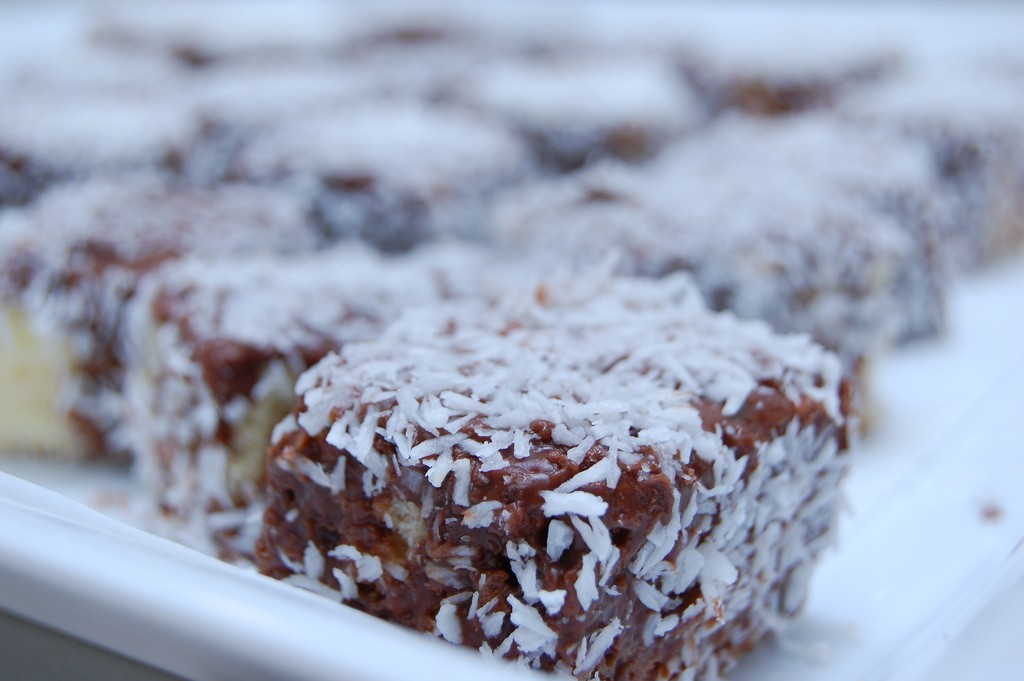 Lamington. Photo by Colin Principe via Flickr CC