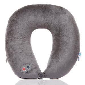 Best gifts for travelers: Ultra Comfort Massage Travel Neck Pillow