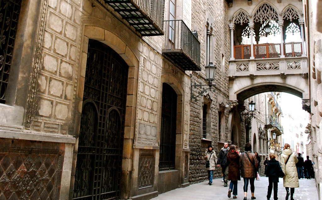 Barri Gòtic, Barcelona. Photo by Valerie Hinojosa via Flickr CC