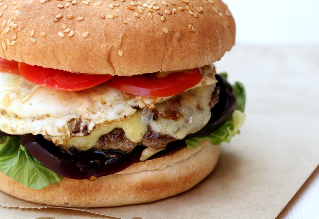 The Aussie Burger with beetroot and egg. Photo by The Second Pancake via Flickr CC