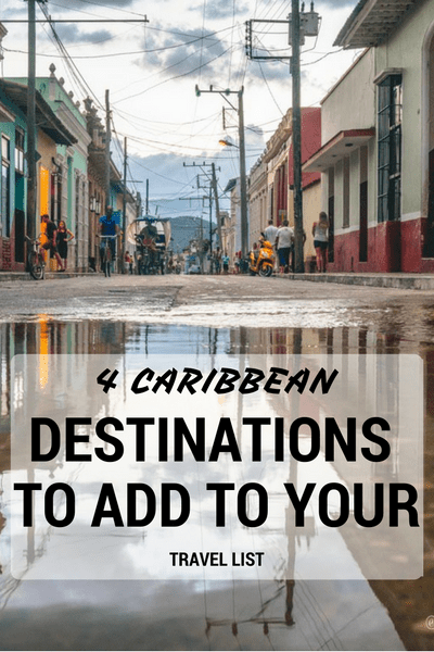 If you've been bitten by the travel bug, your travel bucket list is filled with exciting destinations all over the world. But something tells us that Caribbean islands aren't high on your list of priorities.