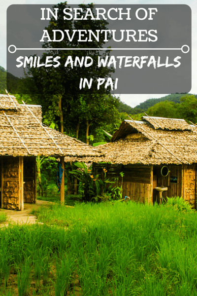 Pai is not known for big sights and attractions, but its beautiful surroundings and laid back atmosphere make it a place you won't forget.