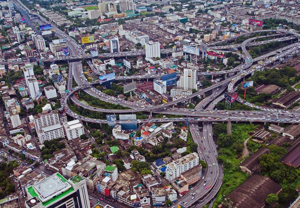 Bangkok from above.