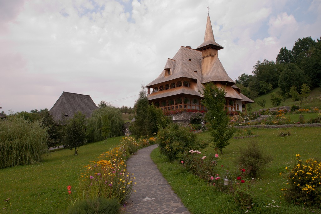Barsana Monastery, Maramures, Romania. Photo via Flickr Creative Commons by Remus Pereni