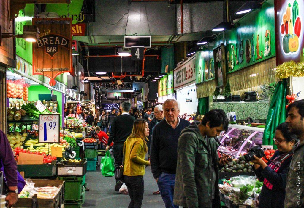 Laneway inside Adelaide Central Market