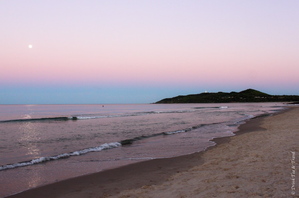 Sunset in Byron Bay. With sights like these, how could you not fall in love with Australia
