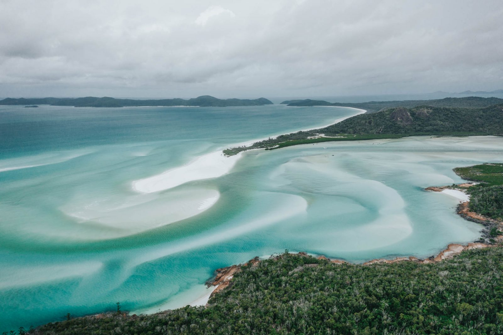 Exploring Whitehaven Beach on a Cruise Whitsundays Tour from
