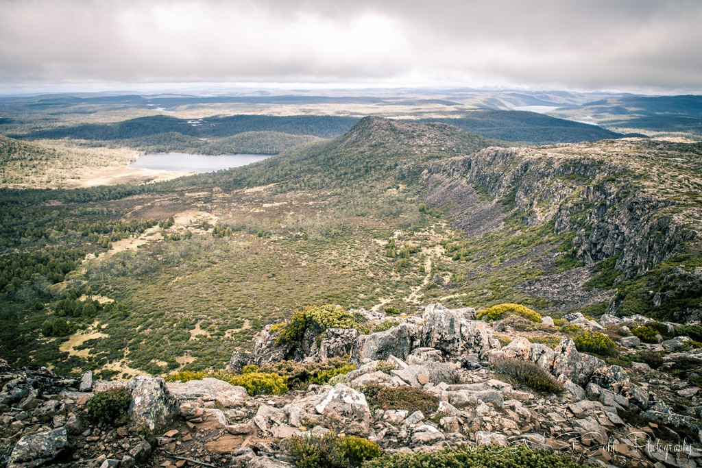 Views from the plateau at Solomon's Throne. Walls of Jerusalem National Park