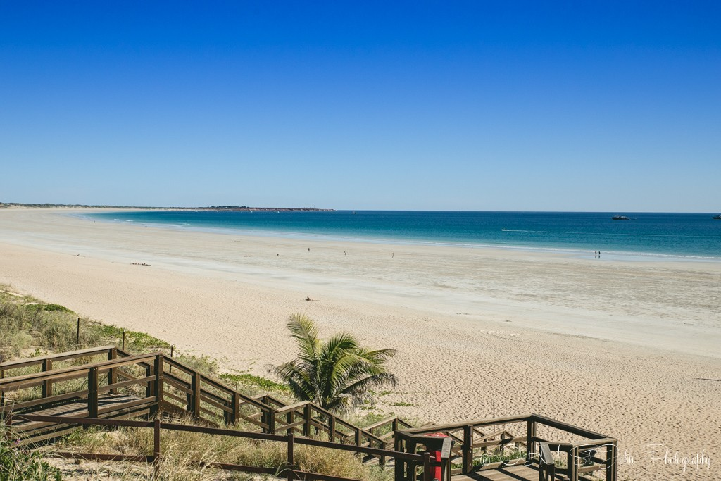 Cable Beach, the Southern side. Broome