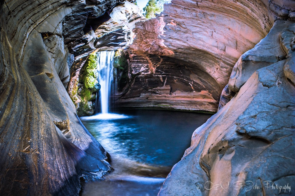 Hamersley Waterfall. Karijini National Park. Western Australia
