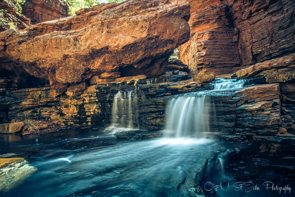 Kermits Pool. Hancock Gorge. Karijini National Park. Western Australia