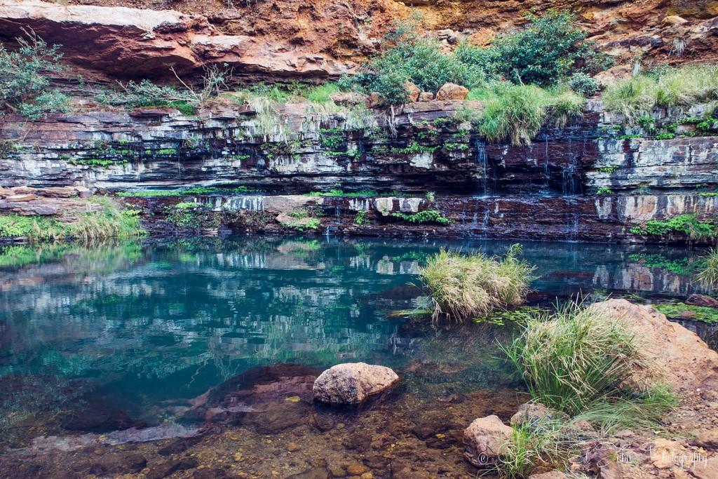 Circular Pool. Dales Gorge. Karijini National Park. Western Australia