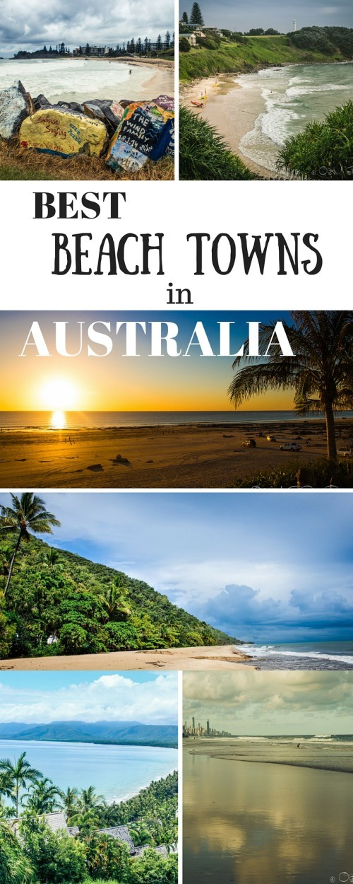 Best beach towns in Australia