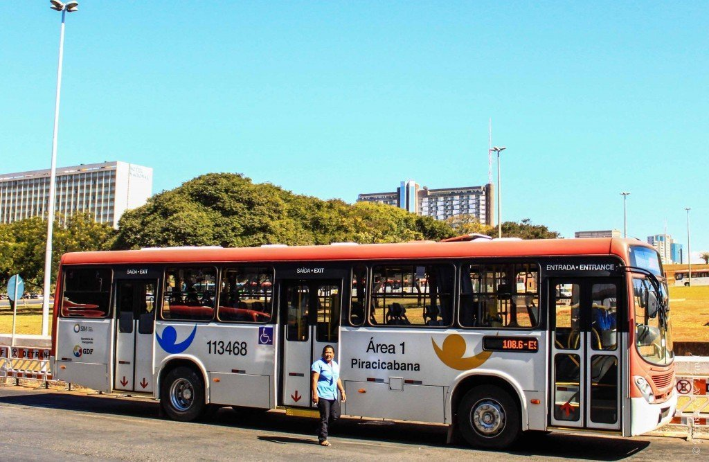 Bus in Brasilia, Brazil