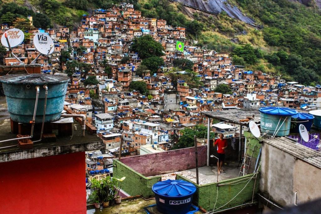 Rocinha, largest favela in Rio de Janeiro