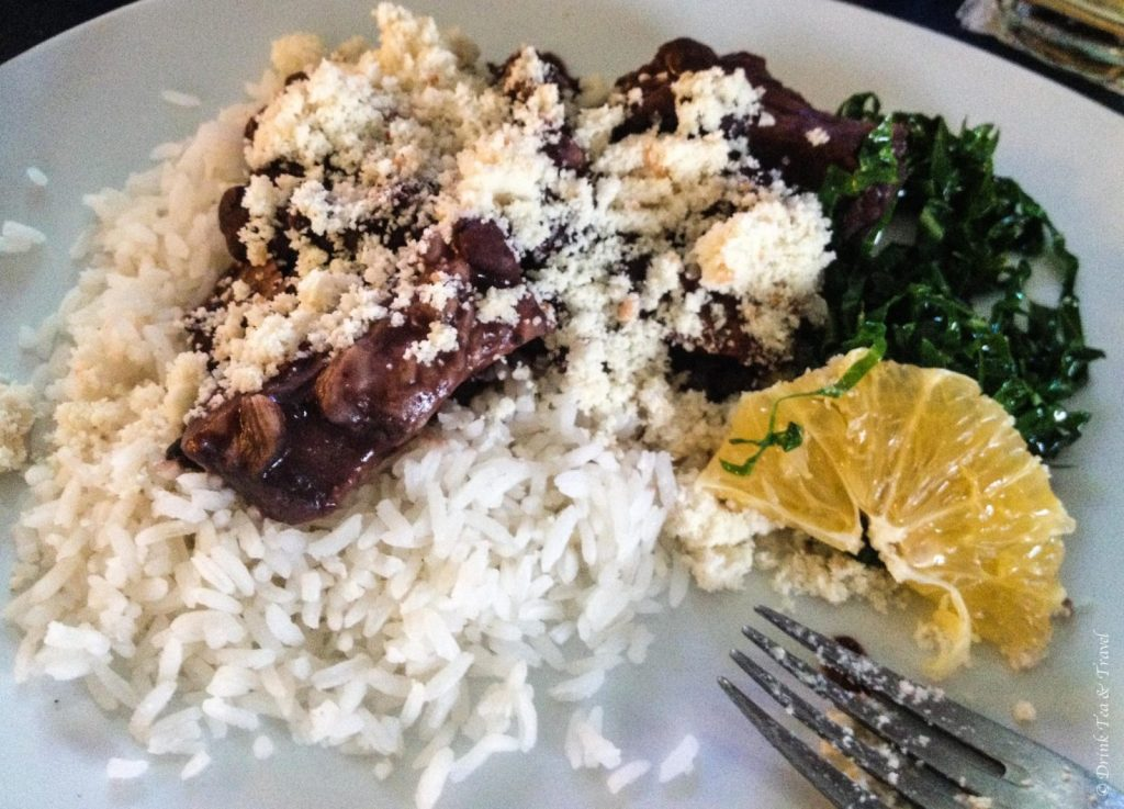 Brazilian dishes: Feijoada