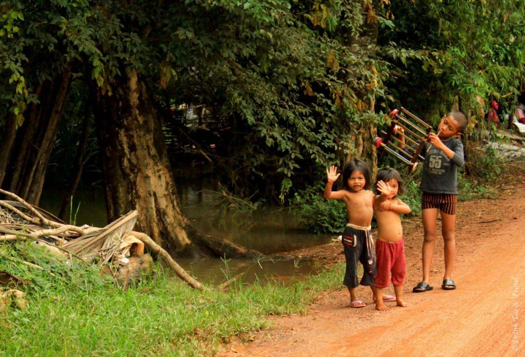 Cambodia-0801 - getting off the beaten track in Cambodia