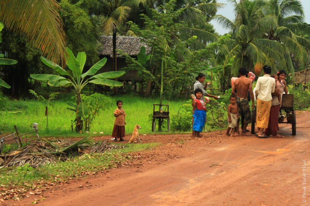 getting off the beaten track in Cambodia 2