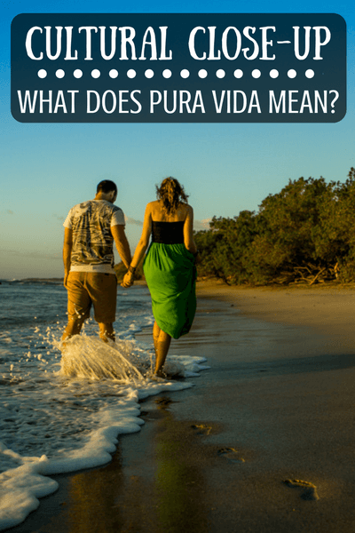 When in Costa Rica, do as the Costa Ricans say...Pura Vida!