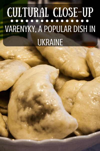 Varenyky, not to be confused with their Polish/Eastern European cousin, Pierogi