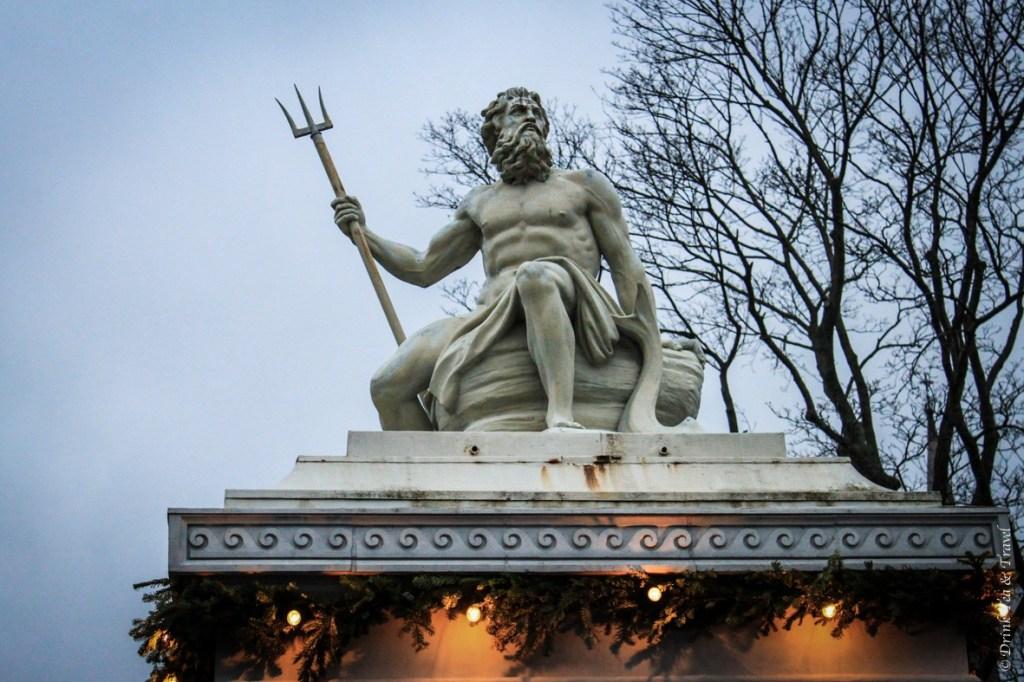 Zeus statue in Copenhagen