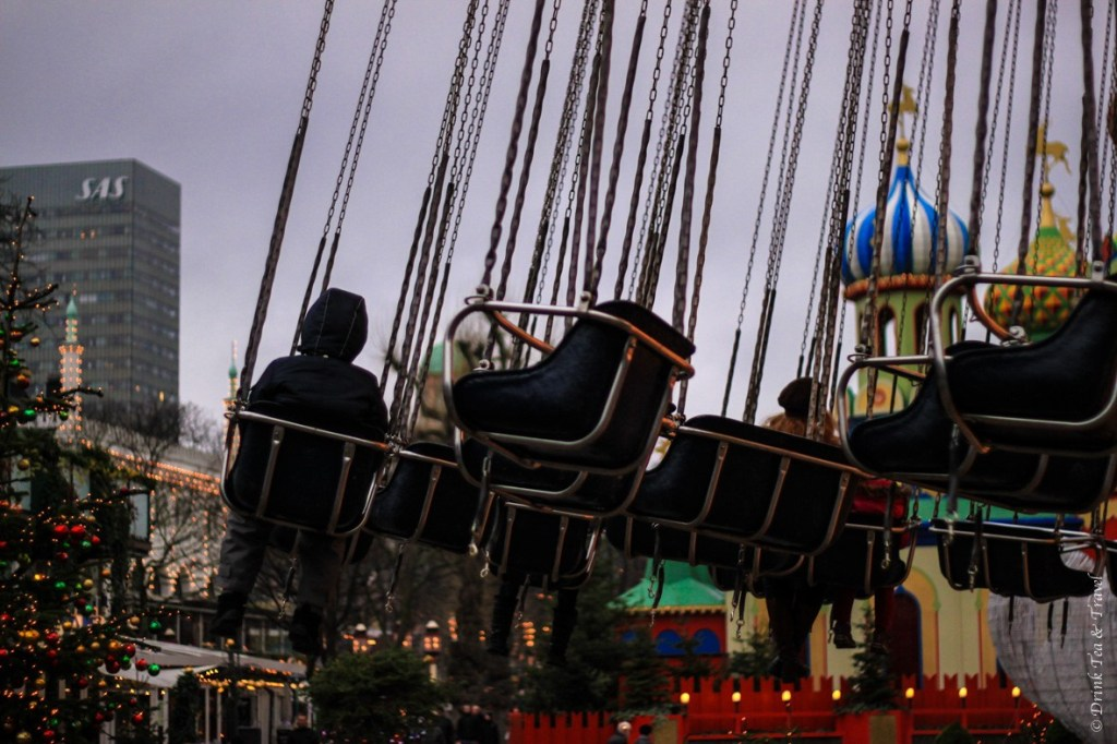 Rides inside Tivoli Gardens