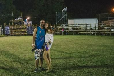 Max & Oksana at the Costa Rican fiesta. Paraiso