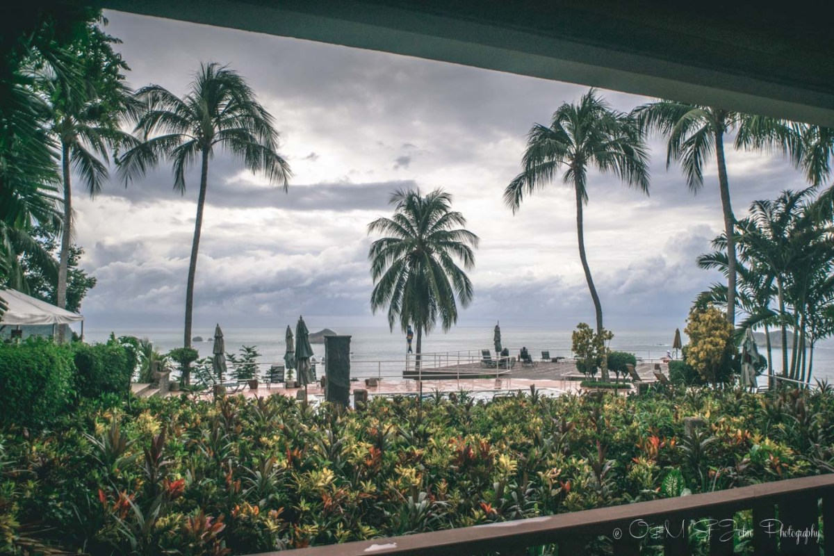 View from our studio apartment in Costa Verde II in Costa Verde Hotel, Manuel Antonio