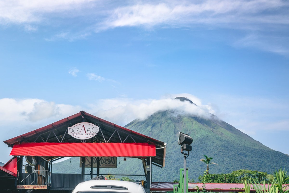 Desafio Adventures office in La Fortuna