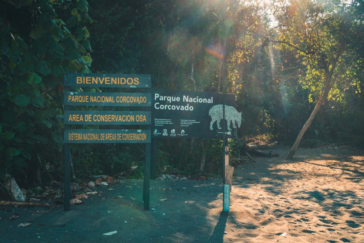 Sirena Station at Corcovado National Park
