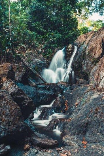 Costa Rica Osa Corcovado waterfall-7981