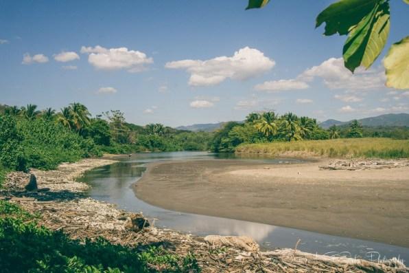 Estuary at Playa Buena Vista, Samara. Costa Rica