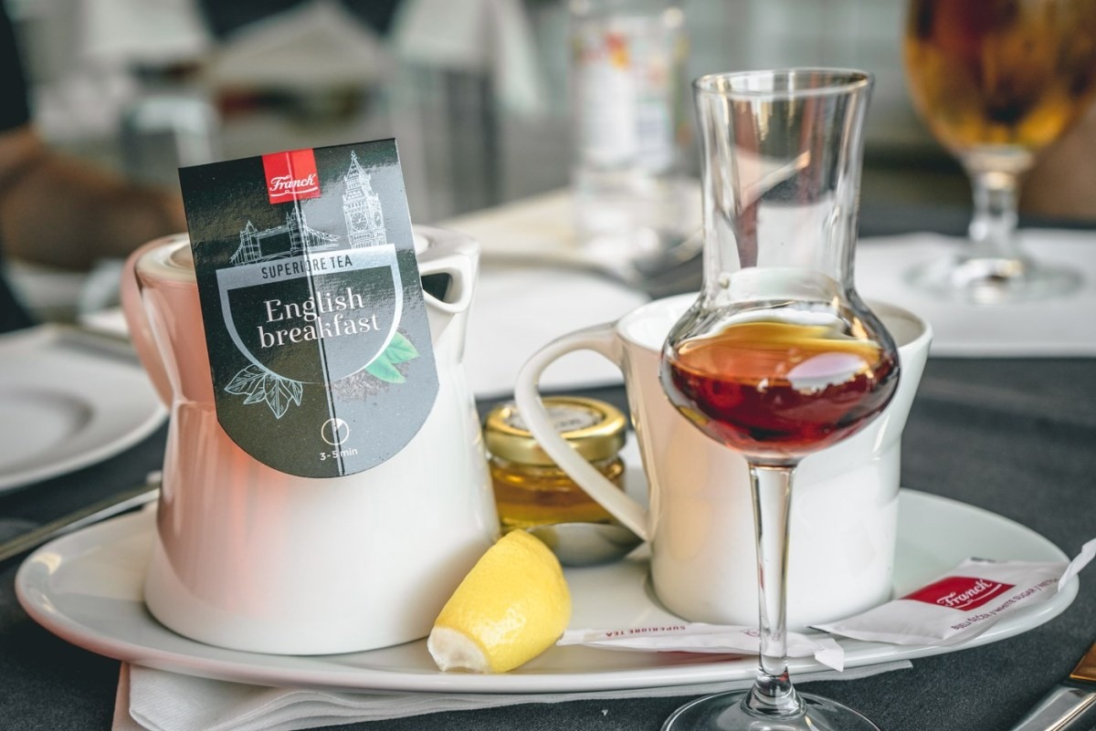 Tea with rum.. a uniquely Croatian take on tea