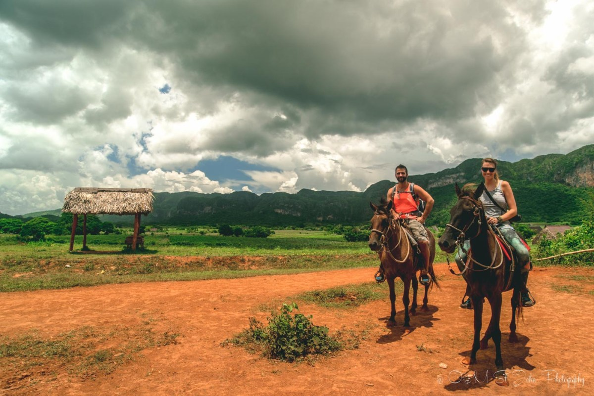 Horseback riding in Vinales