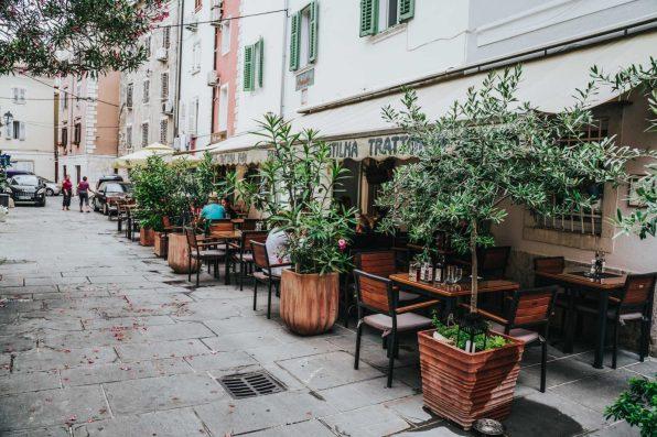 Restaurants of Piran Slovenia