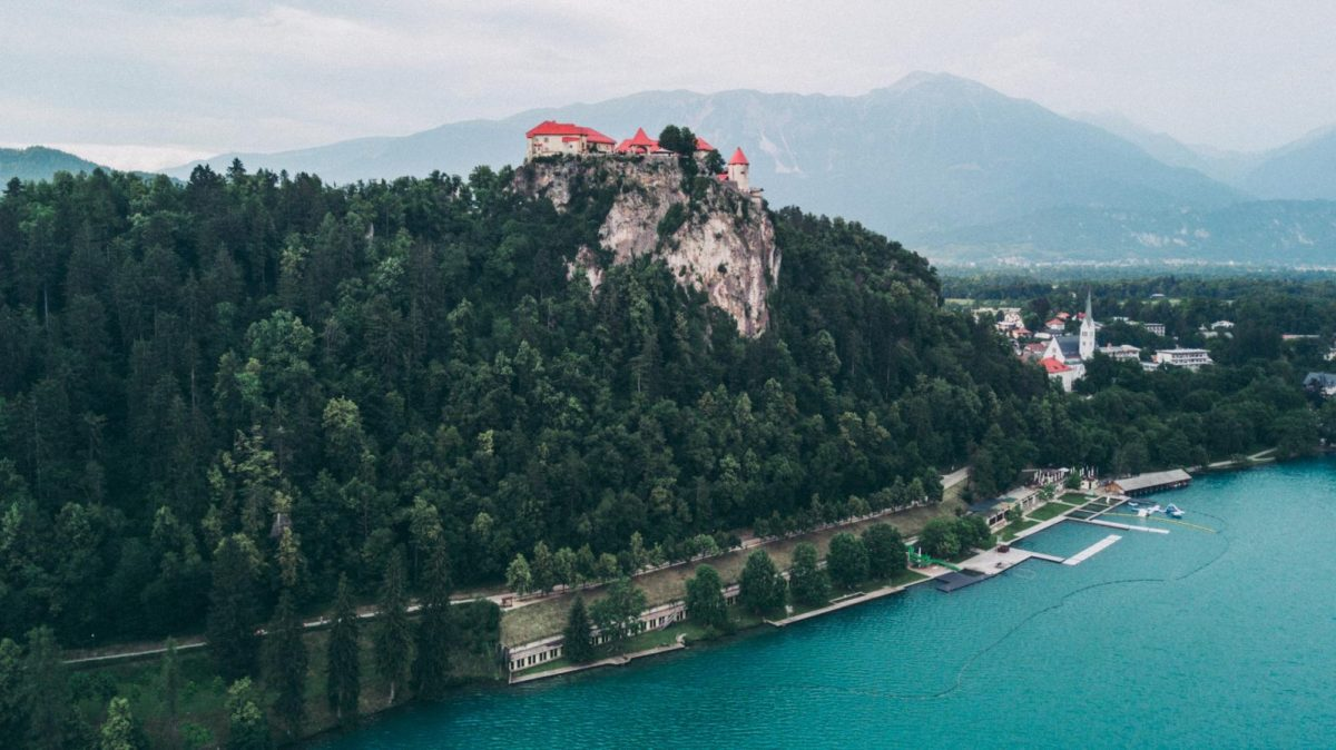 things to do in slovenia on holiday: Lake Bled Castle