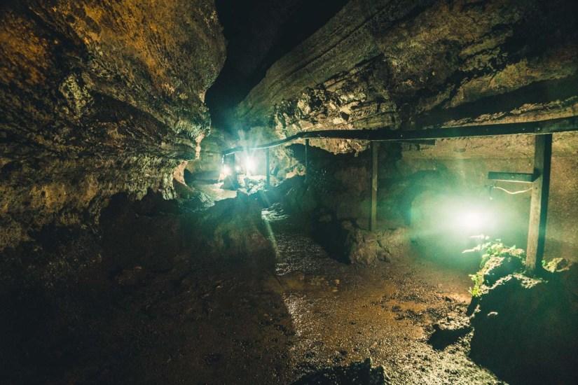 Ecuador Galapagos Santa Cruz lava tunnel-3860