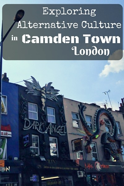 You won't find any major sights and attractions in Camden Town London. But in my mind Camden Town encapsulates the true alternative culture in London.