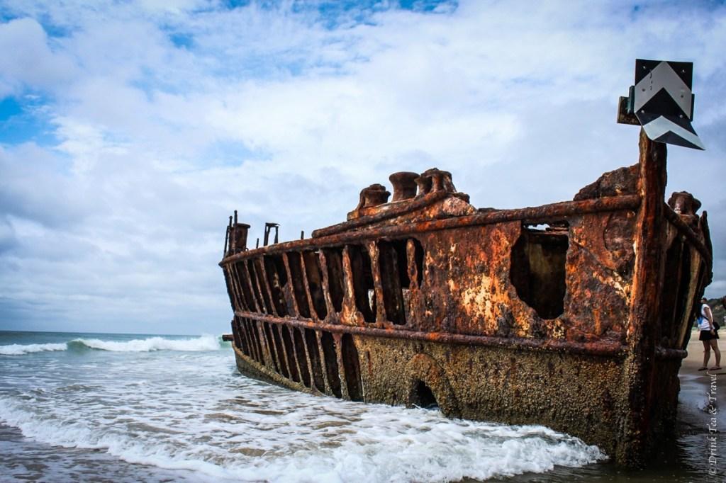 Fraser Island Tour: Maheno Shipwreck