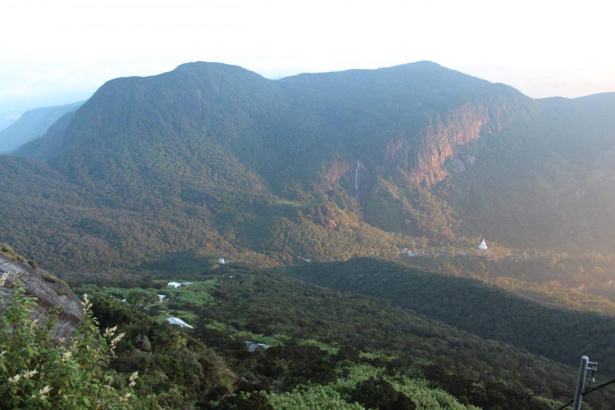 93414747588405 Climb to Adam s Peak  Views from Adam s Peak in the morning light
