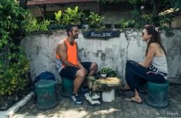 Taking a break in Yogyakarta. Java. Indonesia